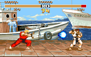 street fighter 2 ryu and ken